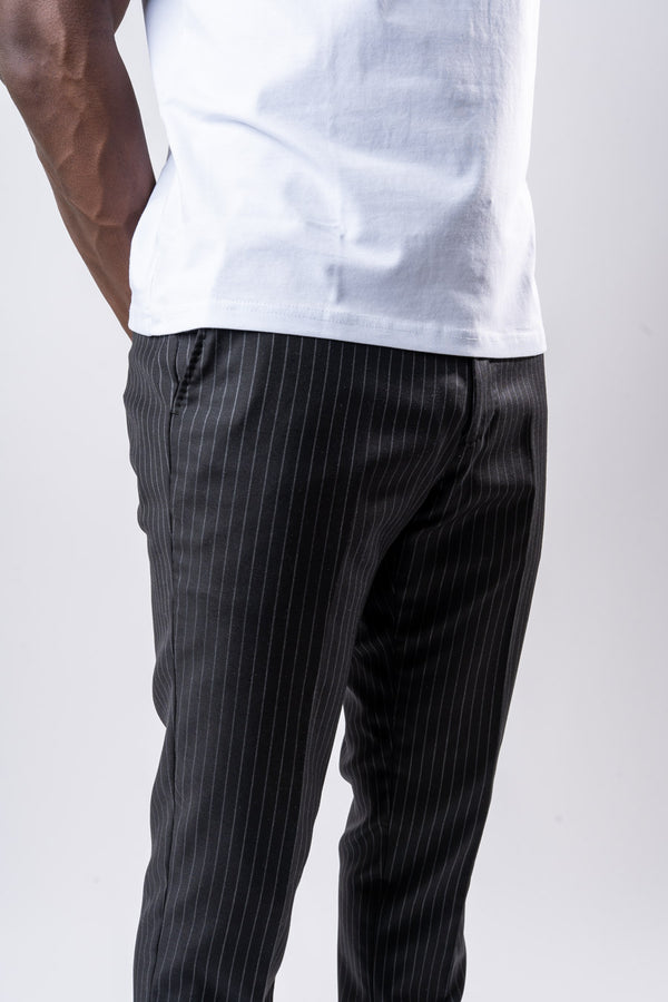 Dark Pinstripe Trouser