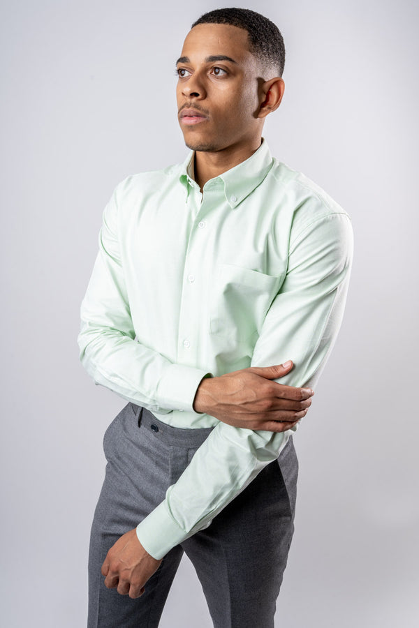 Oxford Shirt - Olive