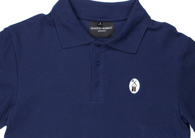 Essential Navy Polo