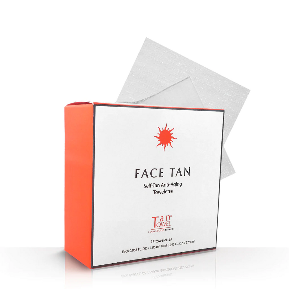 Tan Towel Self Tan Anti-Aging Towelettes - 15 pack