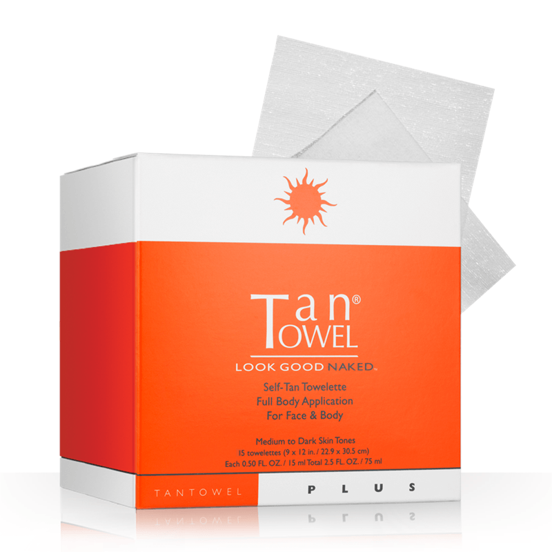 Tan Towel Full Body - 15 Pack