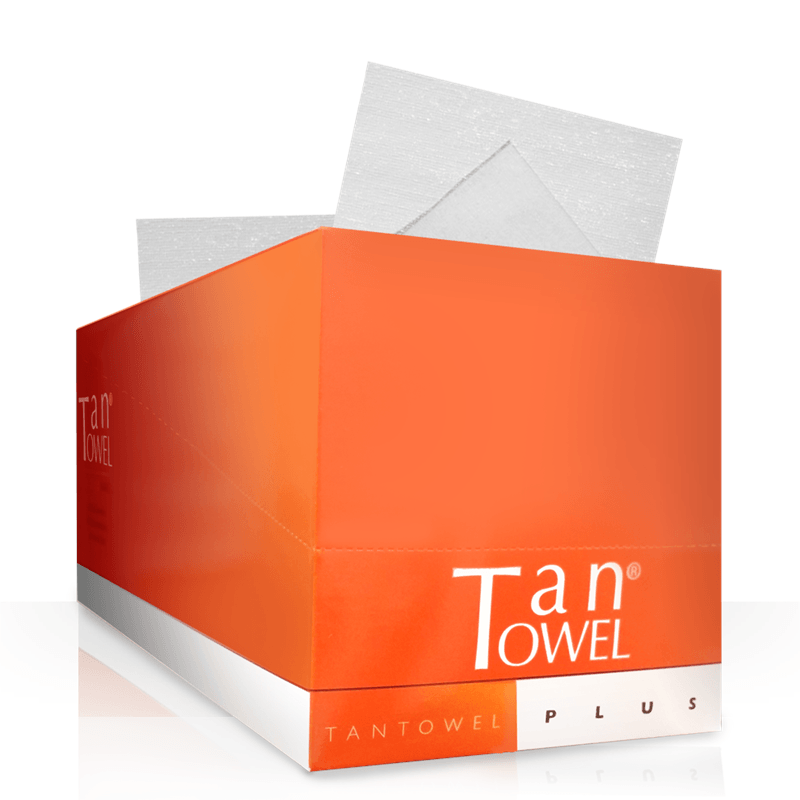Tan Towel Full Body - 50 Pack