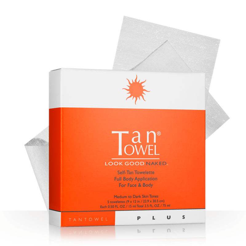 Tan Towel Full Body - 5 Pack