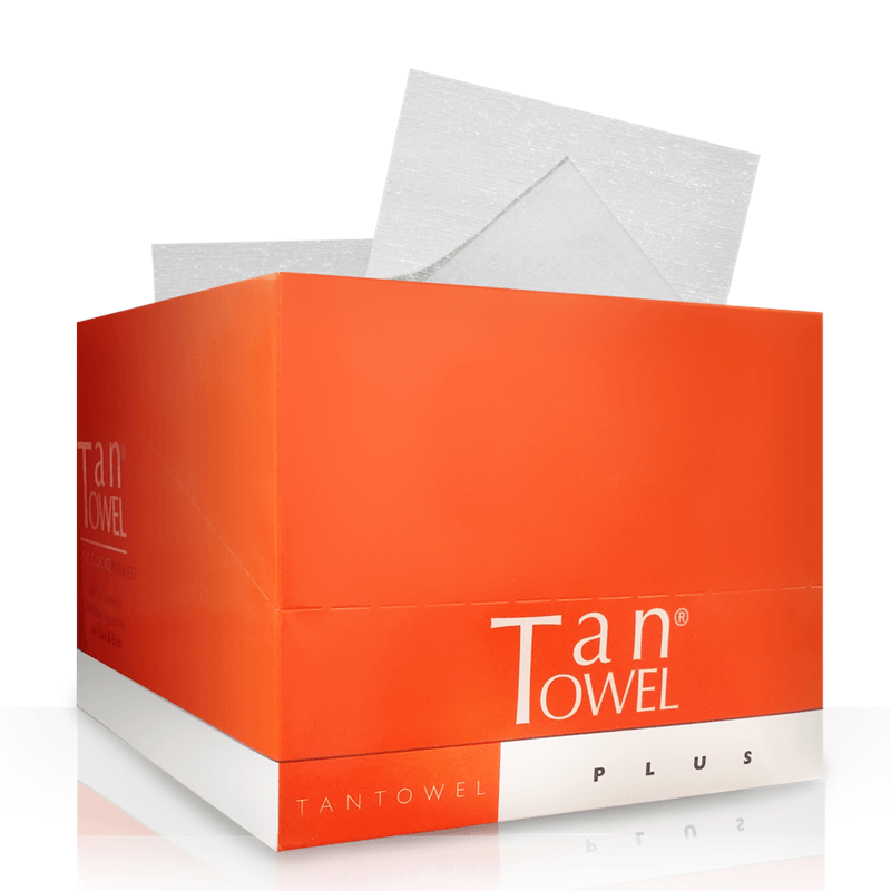 Tan Towel Half Body - 50 Pack
