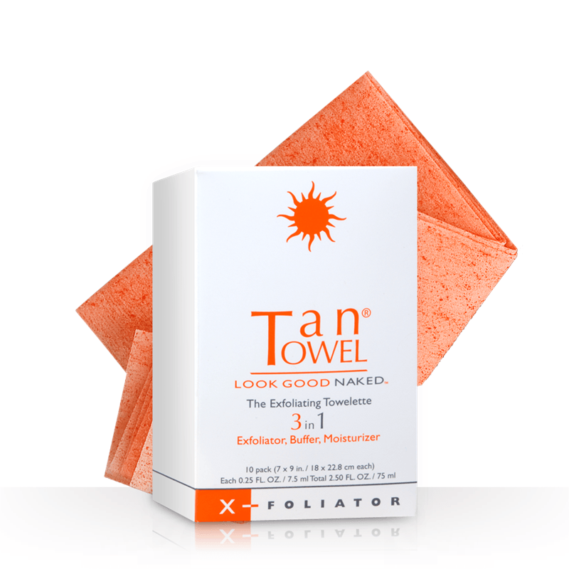 Tan Towel X- Foliator Towelettes