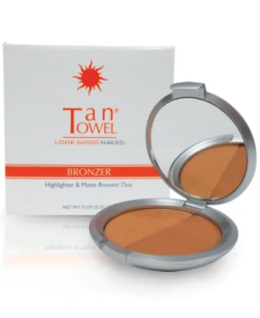 Tan Towel Highlighter & Matte Bronzer Duo