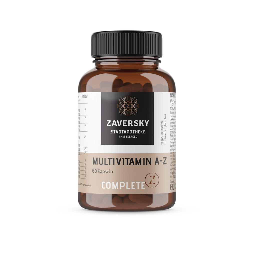 Multivitamin A-Z - zaversky-shop.at