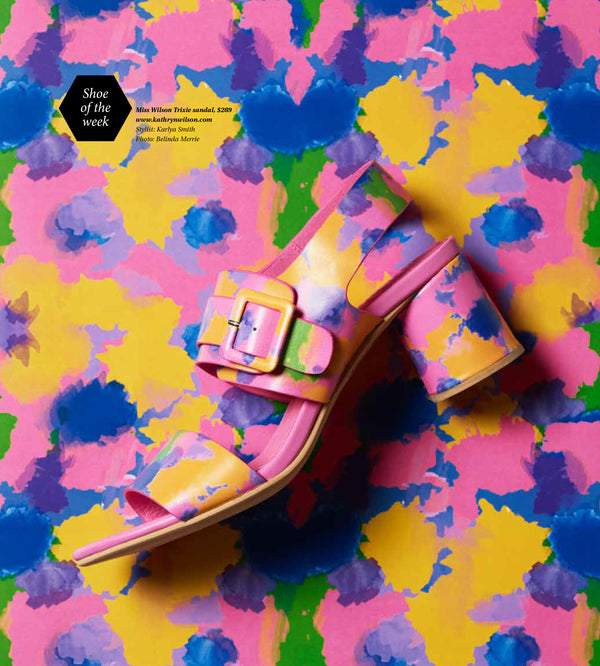 Sunday Star Times Shoe of the Week: Trixie Heel in Fruit Burst