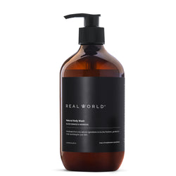 Real World Blood Orange Harakeke Body Wash