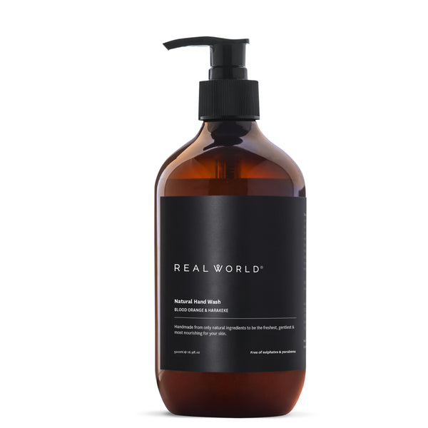 Real World Blood Orange Harakeke Hand Wash (Made in Hawkes Bay, NZ)