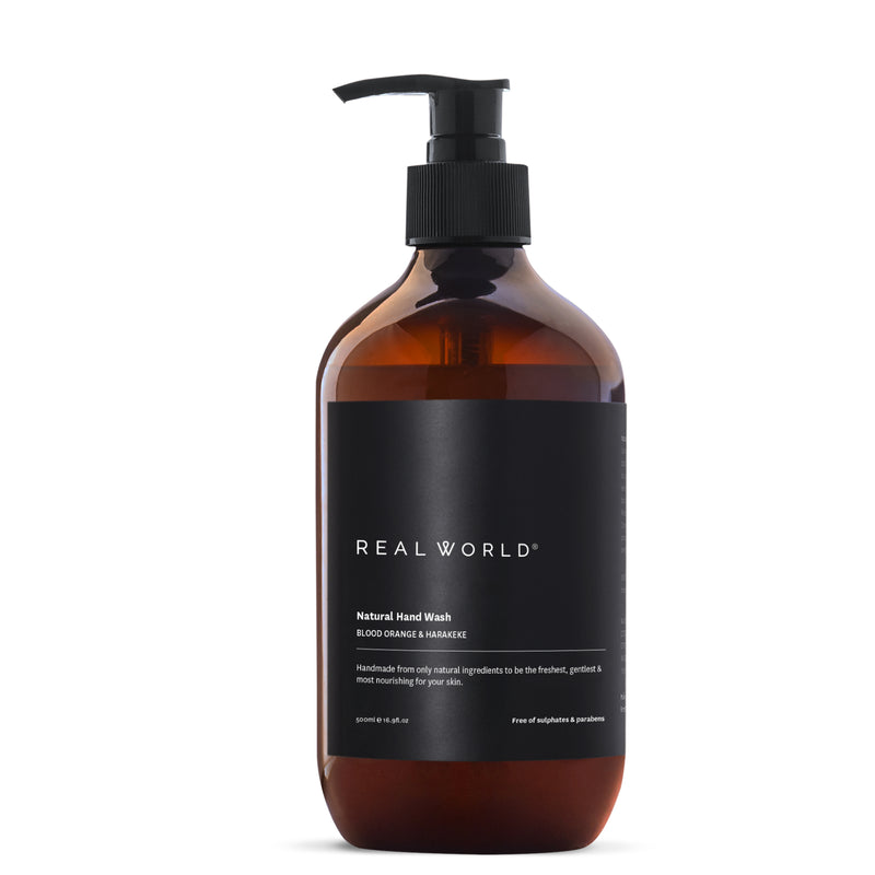 Real World Blood Orange Harakeke Hand Wash