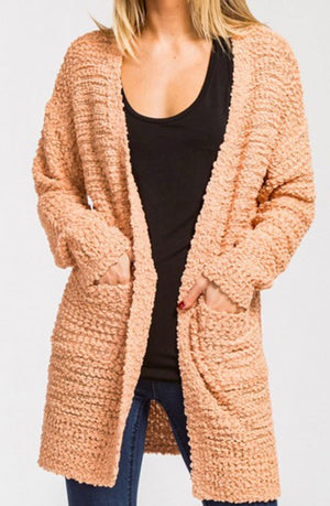 Warm And Fuzzy Cardigan