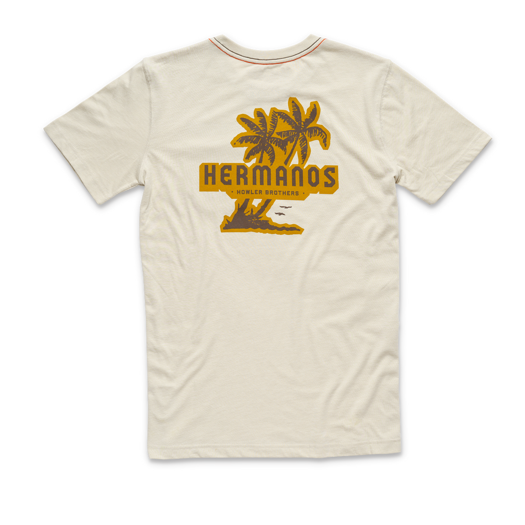 Isla Hermanos Pocket Tee Sand