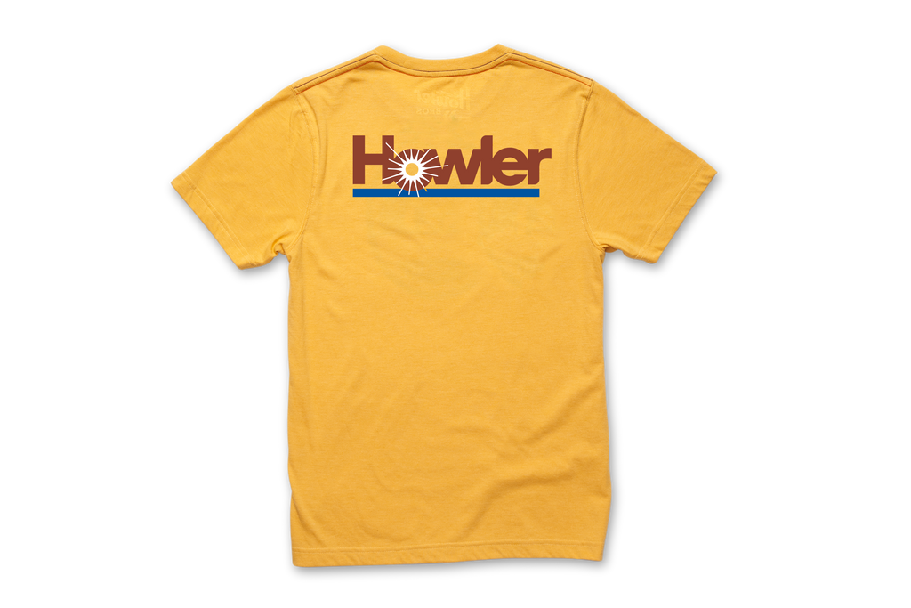 Select Pocket T - Howler Plantation Pale Yellow