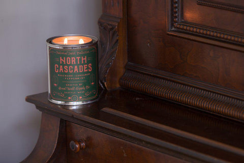 North Cascades National Park Candle Half Pint