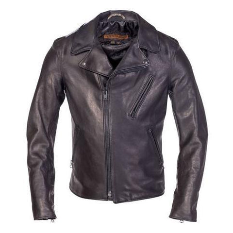 Raven Lambskin Perfecto Jacket P213 Black