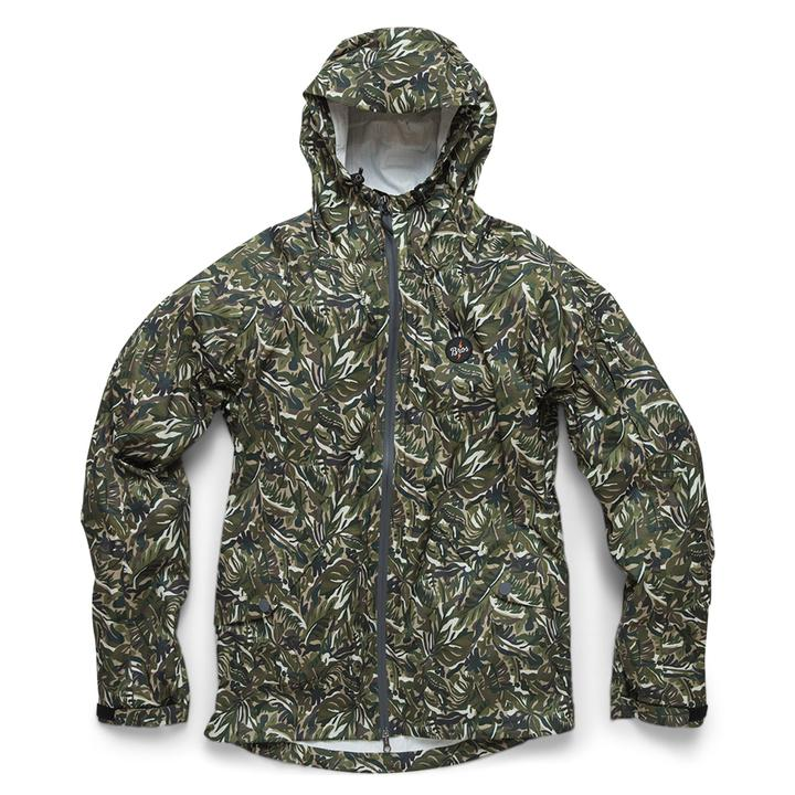 Aguacero Rain Shell Verde Jungle Print