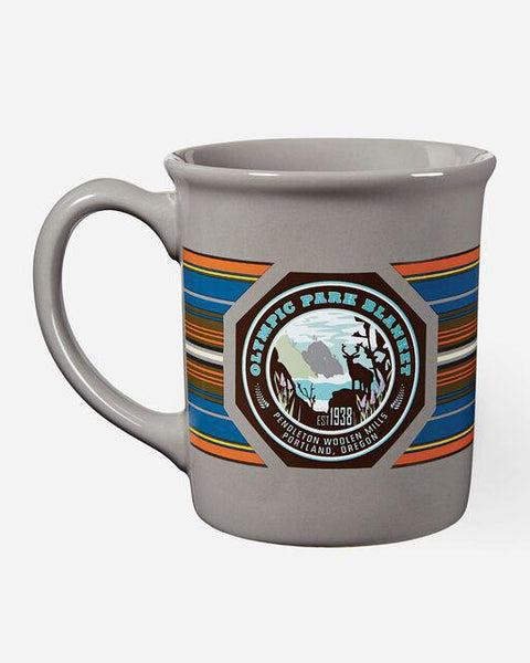 National Park Coffee Mug Olympic Grey