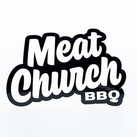 Meat Church BBQ Logo Sticker