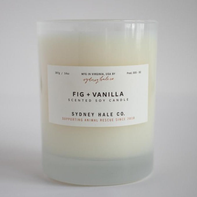 Fig + Vanilla Candle