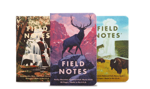 Field Notes National Parks Series C Set of 3