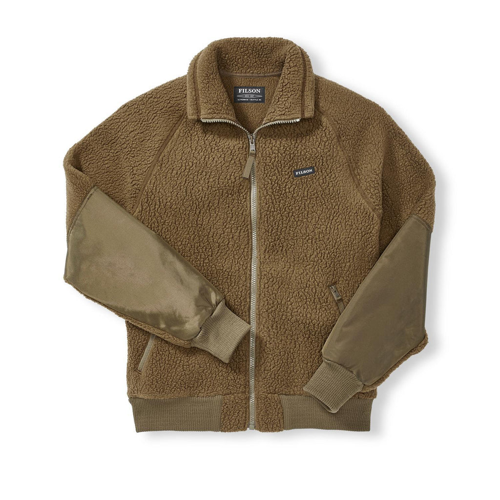 Sherpa Fleece Jacket Marsh Olive