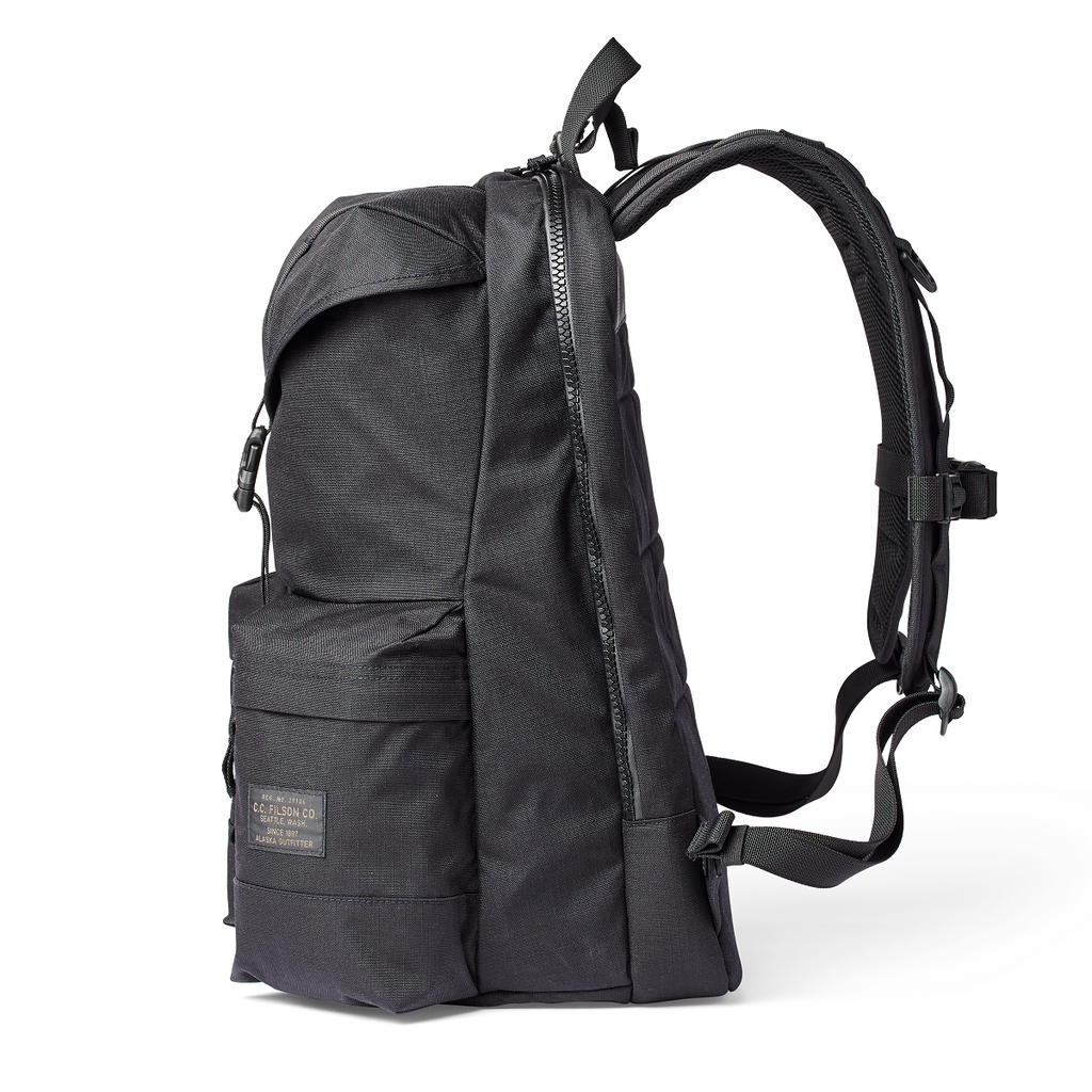 Ripstop Nylon Backpack Black