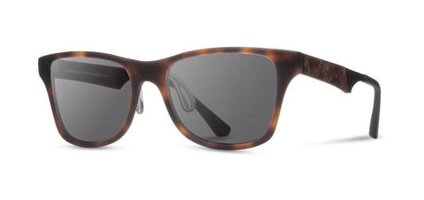 Canby ACTV Sunglasses Matte Brindle/Elm Burl/Grey Polarized