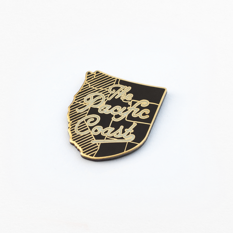 The Pacific Coast Enamel Pin