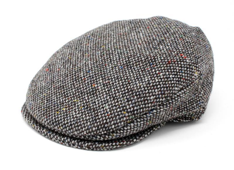 Vintage Cap Tweed Granite Grey Salt & Pepper