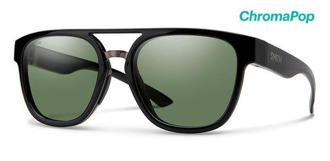 Agency Black w/ ChromaPop Polarized Gray Green