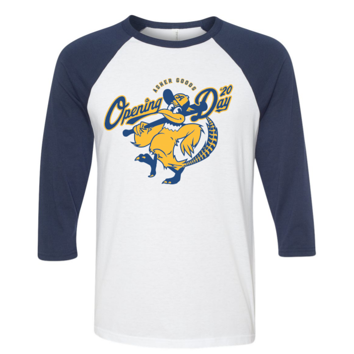 Baseball Opening Day 3/4 Sleeve Tee
