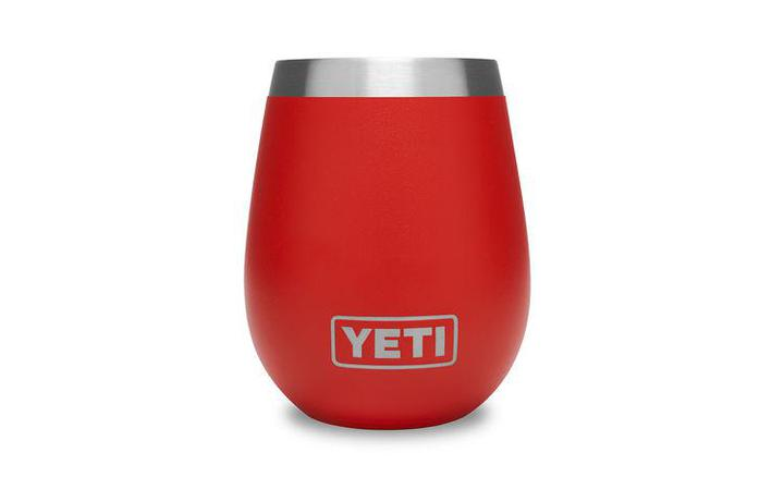 Rambler 10 oz Wine Tumbler Canyon Red