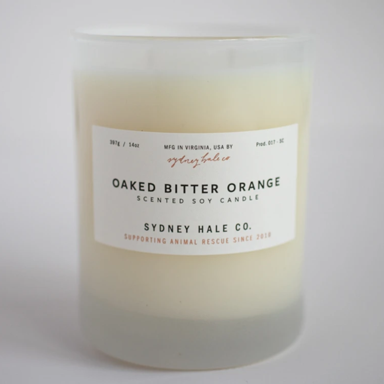 Oaked Bitter Orange Candle