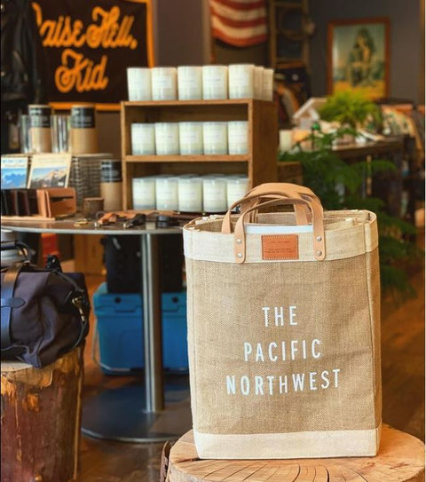 The Pacific Northwest Market Bag