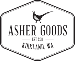 ASHER GOODS logo