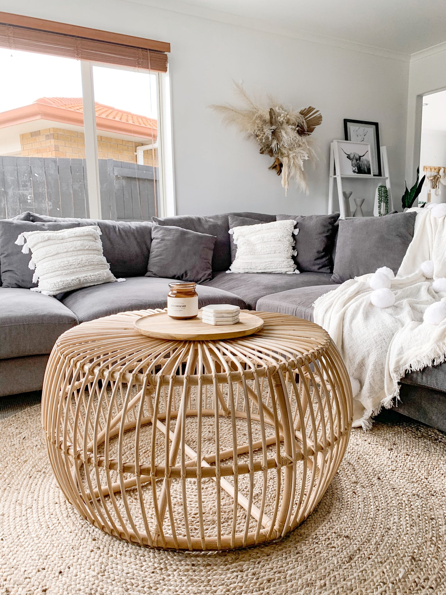 Ayana Rattan Coffee Table
