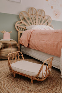 Aria Rattan Dolls Bed