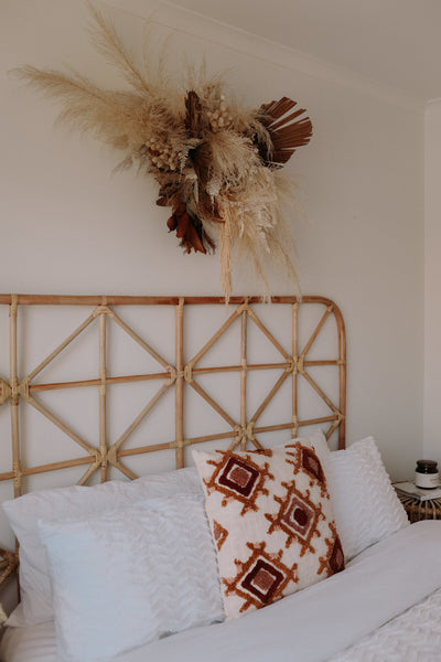 Aztec Rattan Bed Head