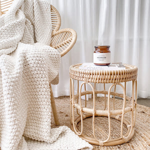 Iluka Rattan Table