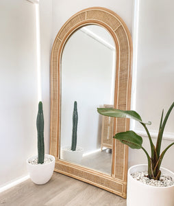 Santorini Full Length Rattan Mirror