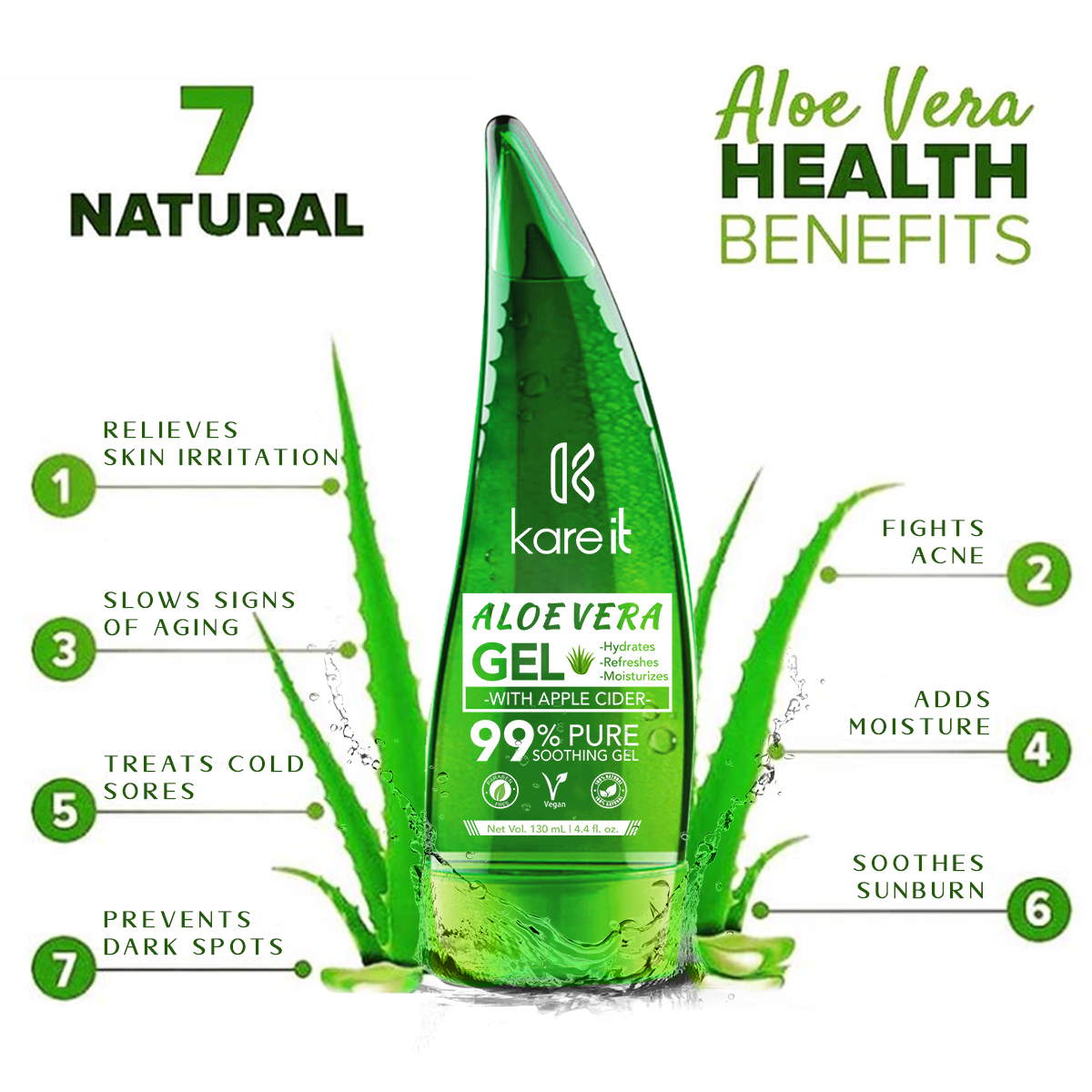 aloe vera gel for face
