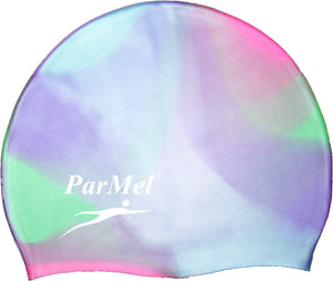Silicone Multi color Swim Caps