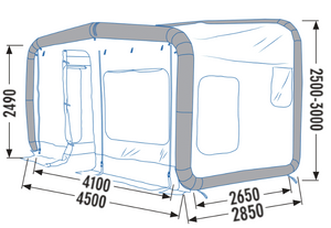 GT Home 410 // Annexe for Motorhomes & Caravans