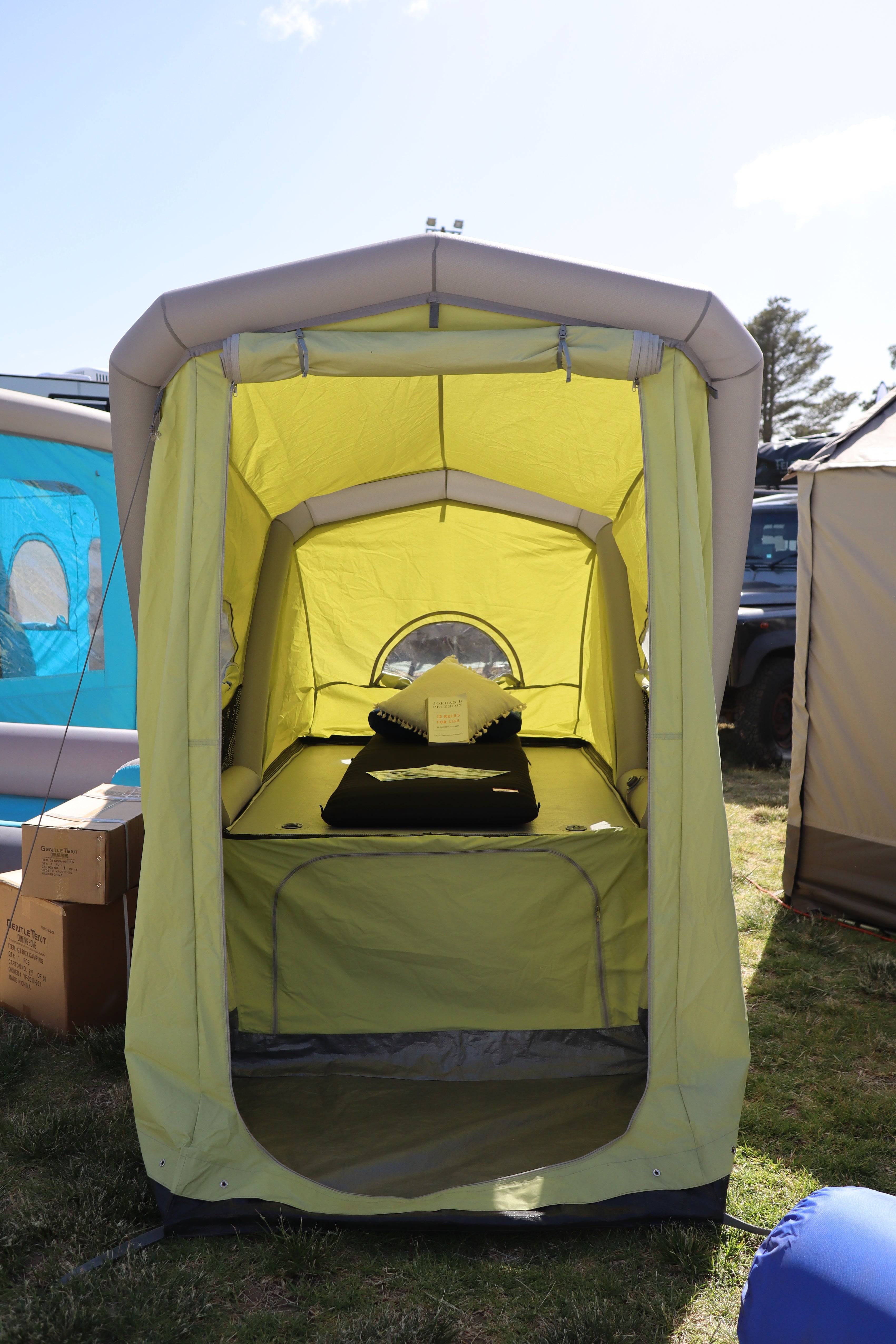 B-Turtle // The Micro-Caravan for Bicycles