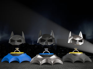 Bat Superhero Style Nerdy Ring Box Material Options