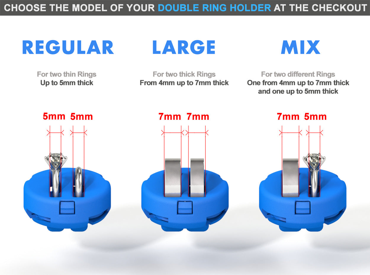 DOUBLE RING HOLDER (Option) to *All Ring Boxes