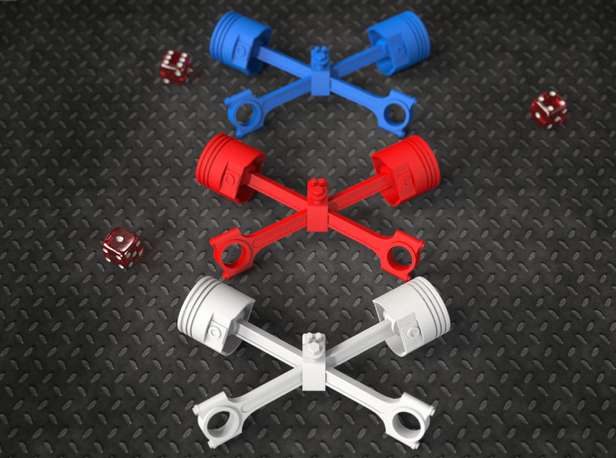 PISTON X STAND Color Options for the Easy Rider Skull Proposal Ring Box