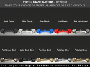 PISTON X STAND Material Options for the Easy Rider Skull Proposal Ring Box