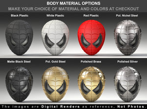 Spider Superhero Style Engagement Ring Box Material Options